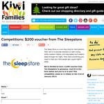 $200 voucher from The Sleepstore