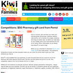 $50 Pharmacy gift card from Pamol