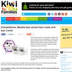 Beebio bee venom face mask and eye creme