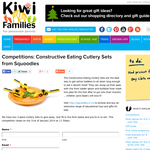Constructive Eating Cutlery Sets from Squoodles