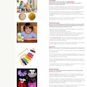 Win 1 of 2 Balloon Balls from Bee My Baby