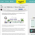 Win 1 of 5 NIVEA Pure & Natural Range Packs