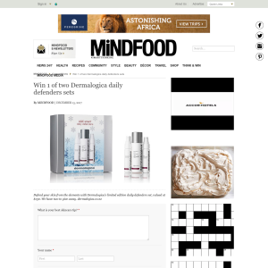 Win 1 of two Dermalogica daily defenders sets