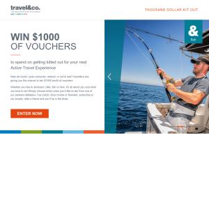 Win  $1000 of Vouchers