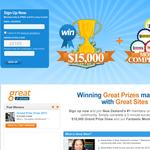 Win $15,000 Cash