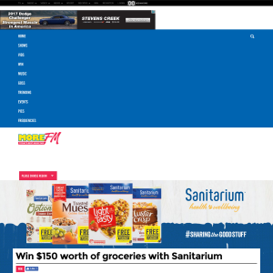 ?Win $150 worth of groceries with Sanitarium