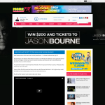 Win $200 and Tickets to Jason Bourne