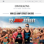 Win 22 Jump Street on DVD