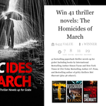 Win 41 thriller novels: The Homicides of March