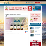 Win $500 Worth Of Abeeco Products