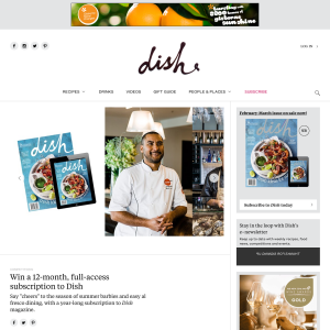 Win a 12-month, full-access subscription to Dish