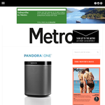 Win a 3-Month Pandora One Subscription & a Sonos Play:1 Wireless Speaker
