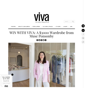 Win a $3000 Wardrobe from Muse Ponsonby
