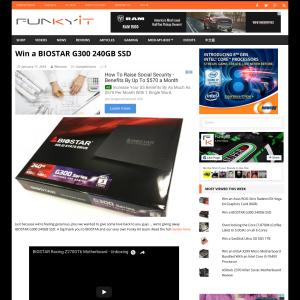 Win a Biostar G300 240GB SSD