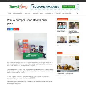 Win A bumper Good Health prize pack