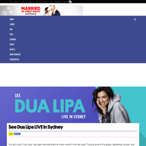 Win a chance to see Dua Lipa LIVE in Sydney