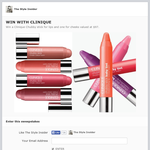 Win a Clinique Chubby stick for lips