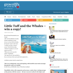Win a copy of Little Tuff and the Whales