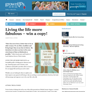 Win a copy of Living the life more fabulous
