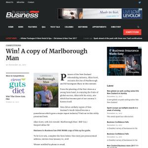 Win A copy of Marlborough Man
