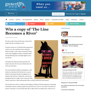Win a copy of 'The Line Becomes a River'