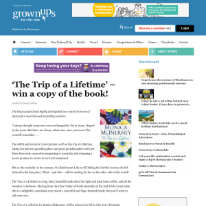 Win a copy of The Trip of a Lifetime