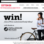 Win a Customized Body Bike worth $379