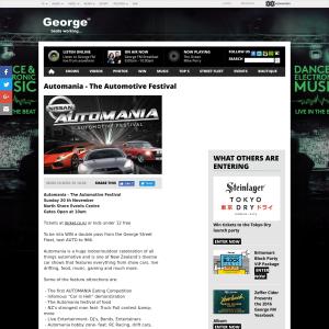 Win a double pass to Automania's The Automotive Festival