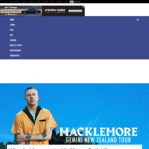 Win a double pass to see Macklemore live in NZ