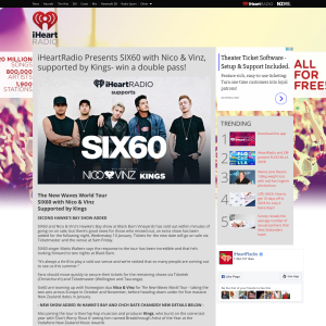 Win a double pass to Six60