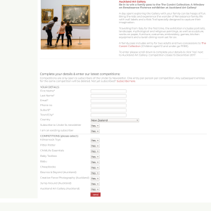 Win a family pass to the The Corsini Collection: A Window on Renaissance Florence exhibition