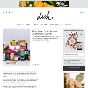 Win a Farro Fresh Artisan Celebration Hamper