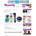 Win a Father's Day set from NIVEA MEN