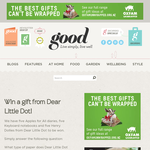 Win a gift from Dear Little Dot!