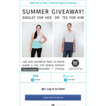 Win a His or Hers // Ethical Organic Clothing