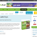 Win a meat-free meal from Fry's