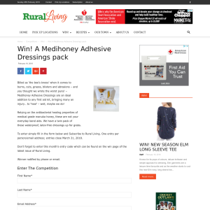 Win A Medihoney Adhesive Dressings pack