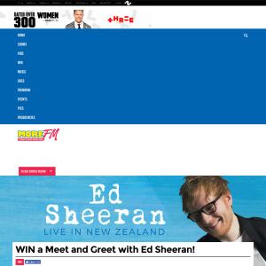 Win a Meet and Greet with Ed Sheeran