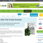 Win a mixed greens prize pack from The Fresh Grower
