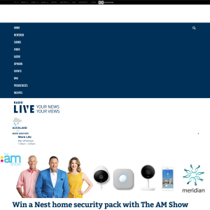 Win a Nest home security pack with The AM Show