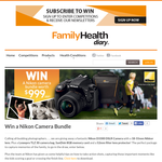 Win a Nikon Camera Bundle