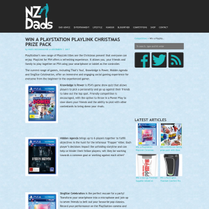 Win a PlayStation PlayLink Christmas prize pack