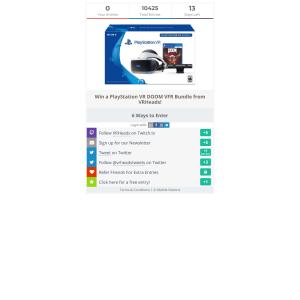 Win a PlayStation VR DOOM VFR Bundle from VRHeads