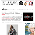 Win a Stolen Girlfriends Club jacket