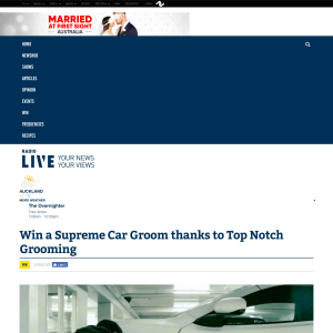 Win a Supreme Car Groom thanks to Top Notch Grooming