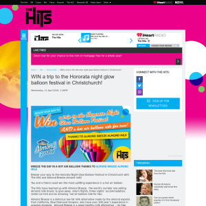 Win a trip to the Hororata night glow balloon festival in Christchurch