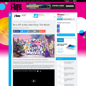 Win a VIP at My Little Pony: The Movie