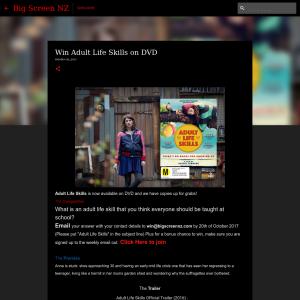 Win Adult Life Skills on DVD