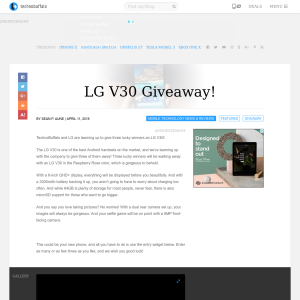 Win an LG V30