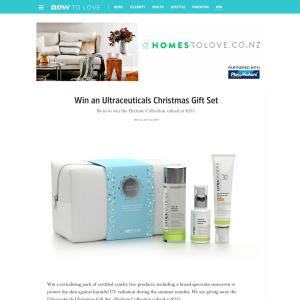 Win an Ultraceuticals Christmas Gift Set